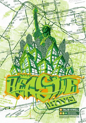 Bobby Dixon Beastie Boys Poster