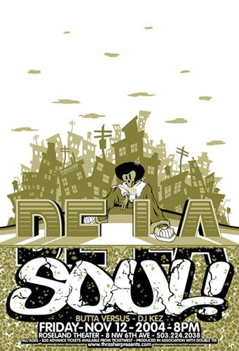 Bobby Dixon De La Soul Poster