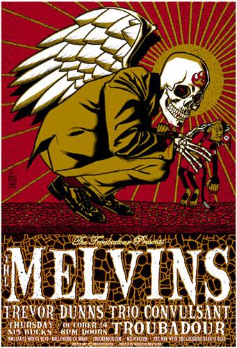 Brian Ewing Melvins Poster