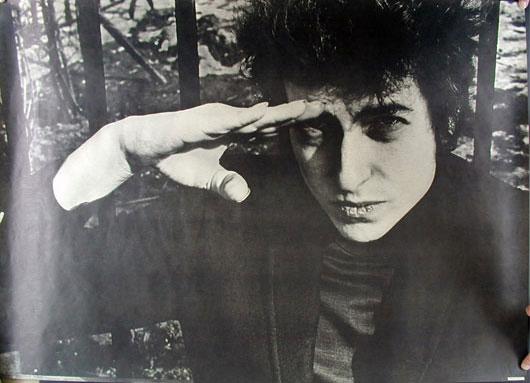 Photo by Fred W. McDarrah Bob Dylan Promo Poster