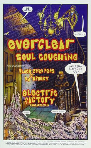 David Dean Black Eyed Peas Poster
