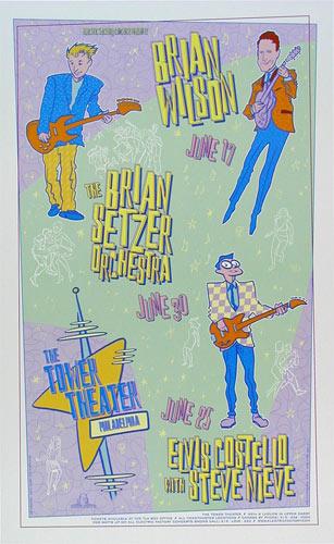 David Dean Brian Wilson Poster