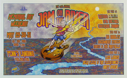 David Dean Ratdog - Jam On The River Poster