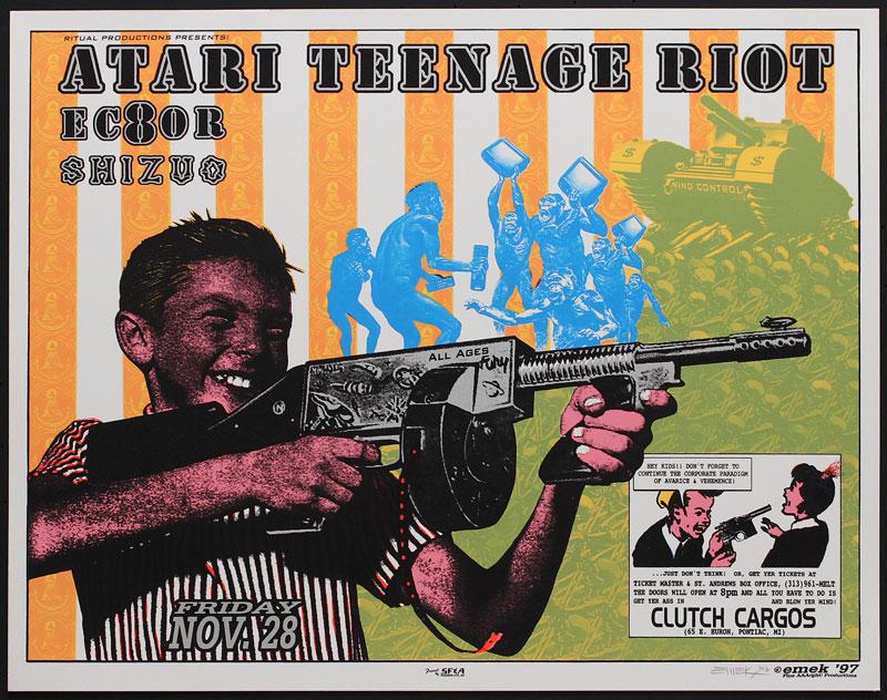 Emek Atari Teenage Riot Poster