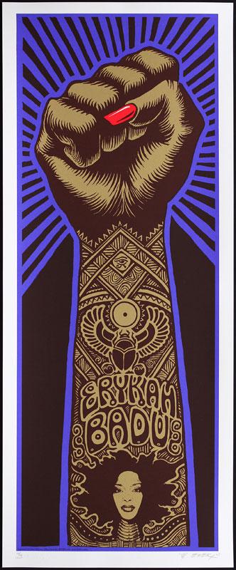 Emek Erykah Badu - Brown Variant Poster