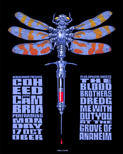 Emek Coheed And Cambria Poster