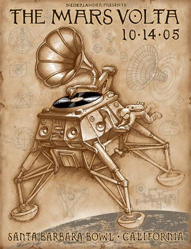 Emek Mars Volta Poster