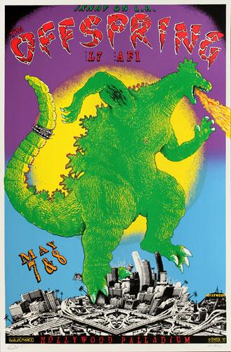 Emek The Offspring Progressive Proof Poster