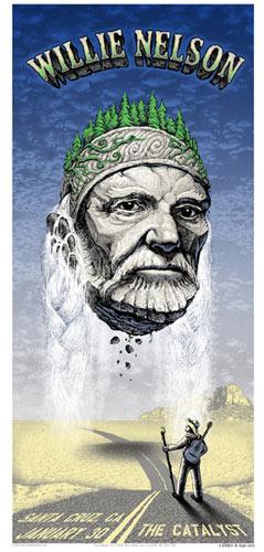 Emek Willie Nelson Poster