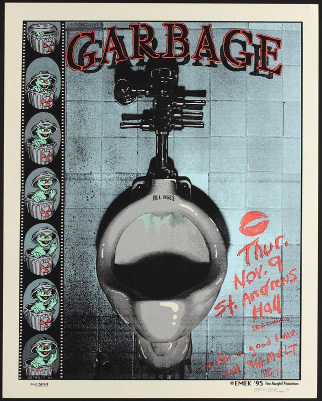 Emek Garbage Poster