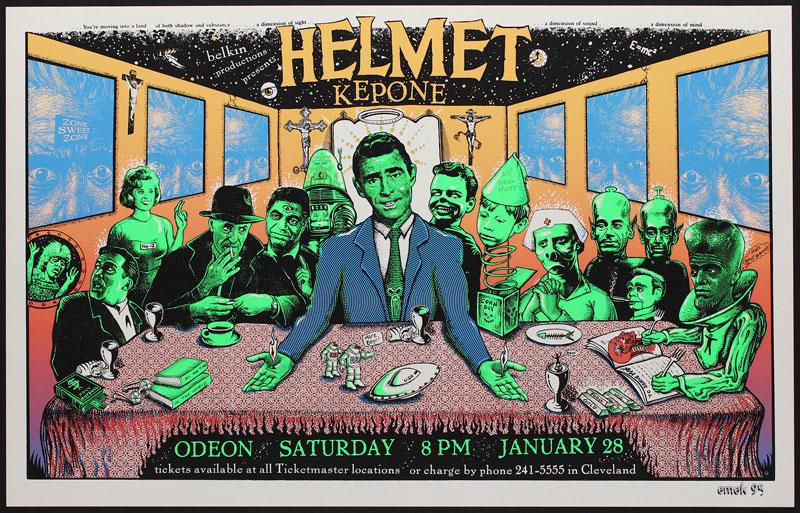 Emek Helmet Poster