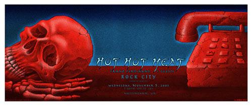 Emek Hot Hot Heat Poster