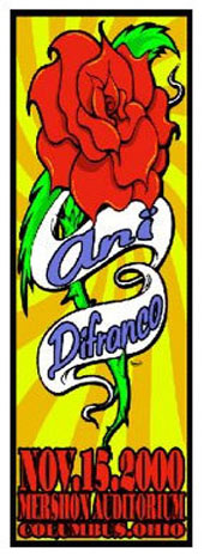 Mike Martin Ani DiFranco Poster