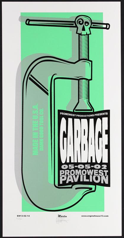 Mike Martin Garbage Poster