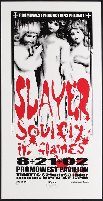 Mike Martin Slayer Poster