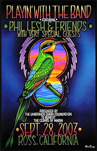 Michael Everett Phil Lesh & Friends Poster