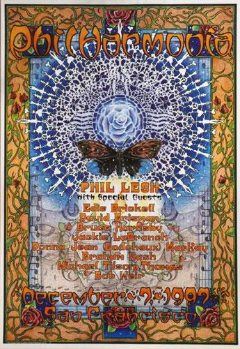 Michael Everett Phil Lesh Philharmonia #1 1997 Poster