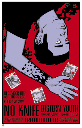Brian Ewing No Knife Poster