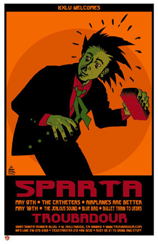 Brian Ewing Sparta Poster