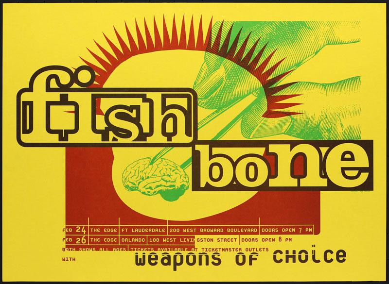 Eyenoise Fishbone Poster
