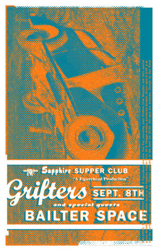 Eyenoise Grifters Poster