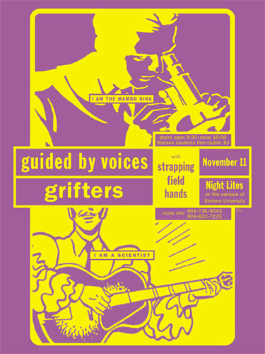 Eyenoise Guided By Voices Poster
