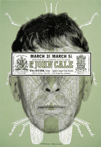 Eyenoise John Cale Poster