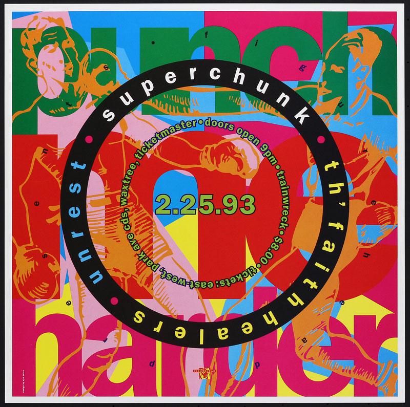 Eyenoise Superchunk Poster