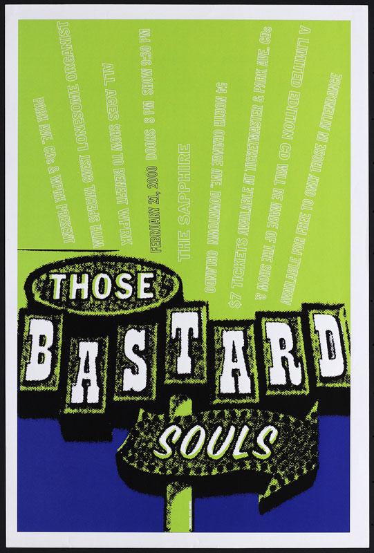 Eyenoise Those Bastard Souls Poster