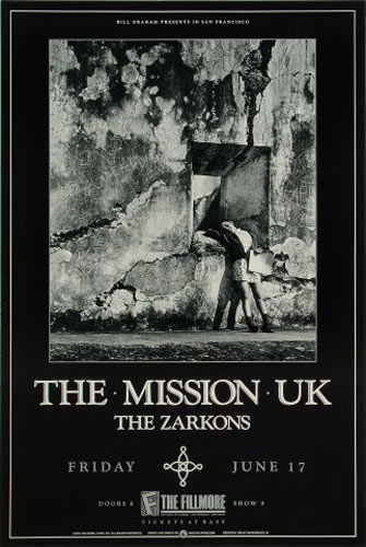 Mission UK New Fillmore Poster F28