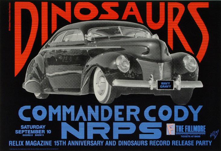 Dinosaurs New Fillmore Poster F46