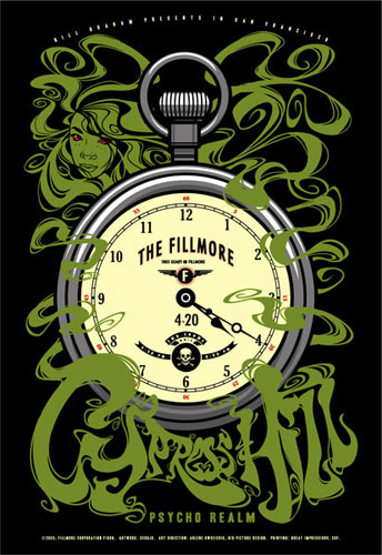 Cypress Hill New Fillmore F1008 Poster