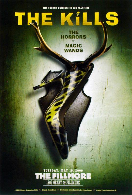 The Kills New Fillmore F1014 Poster