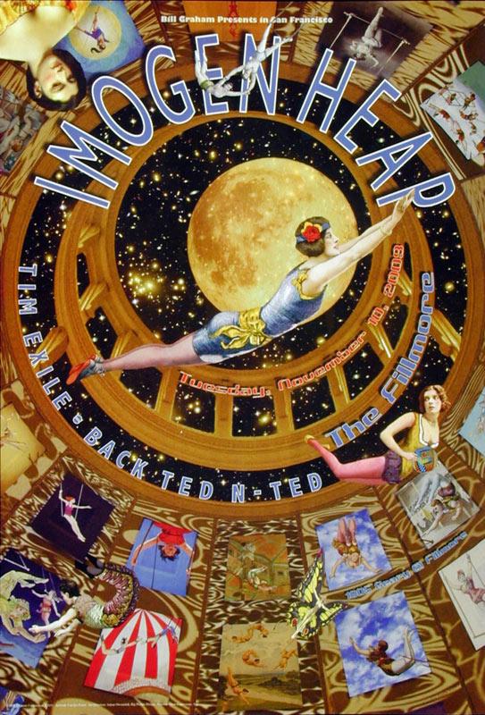 Imogen Heap New Fillmore F1031 Poster