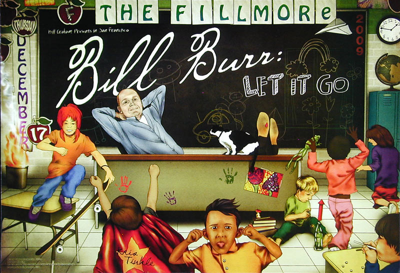 Bill Burr New Fillmore F1034 Poster