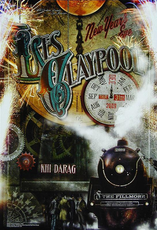 Les Claypool New Fillmore F1035 Poster