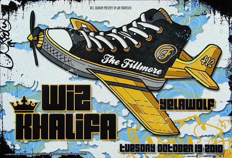 Wiz Khalifa New Fillmore F1068 Poster