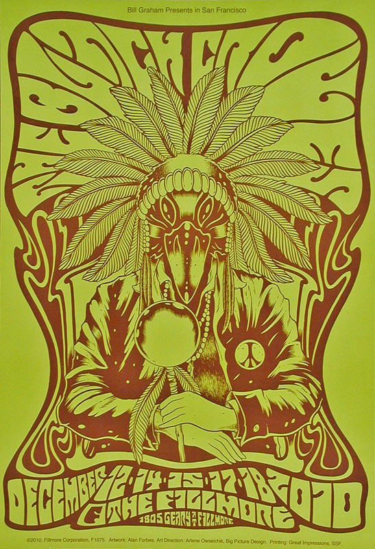 The Black Crowes New Fillmore F1075G Poster