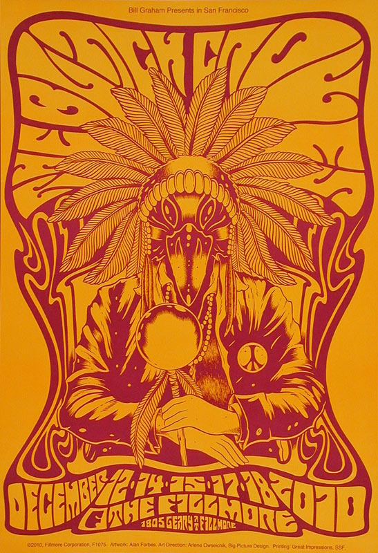 The Black Crowes New Fillmore F1075O Poster