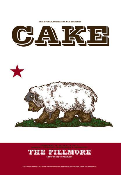 Cake New Fillmore F1087 Poster