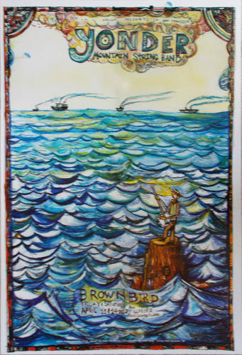 Yonder Mountain String Band New Fillmore F1154 Poster