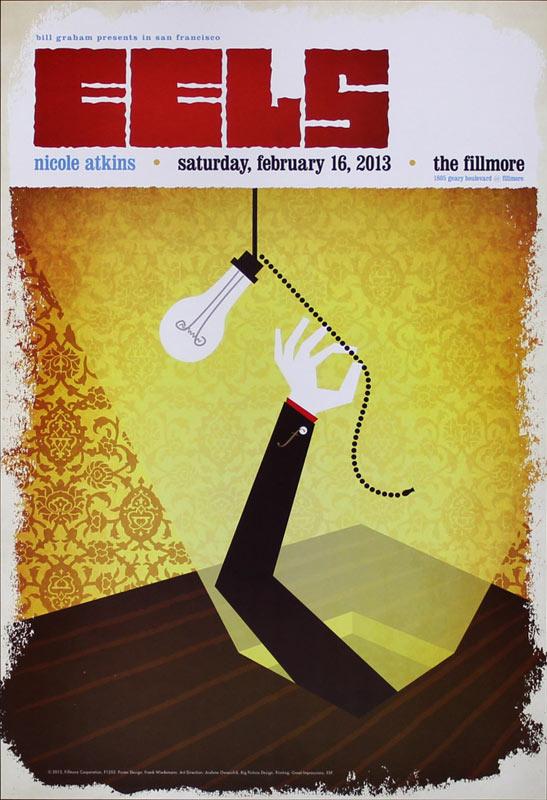 Eels 2013 Fillmore F1202 Poster