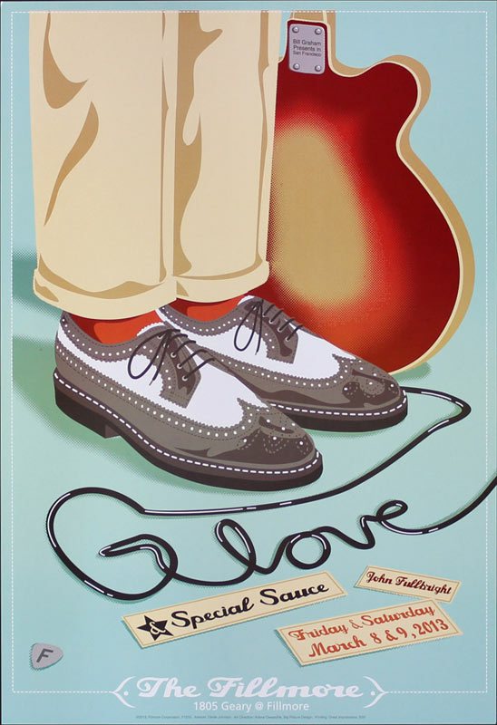 G. Love and Special Sauce 2013 Fillmore F1205 Poster