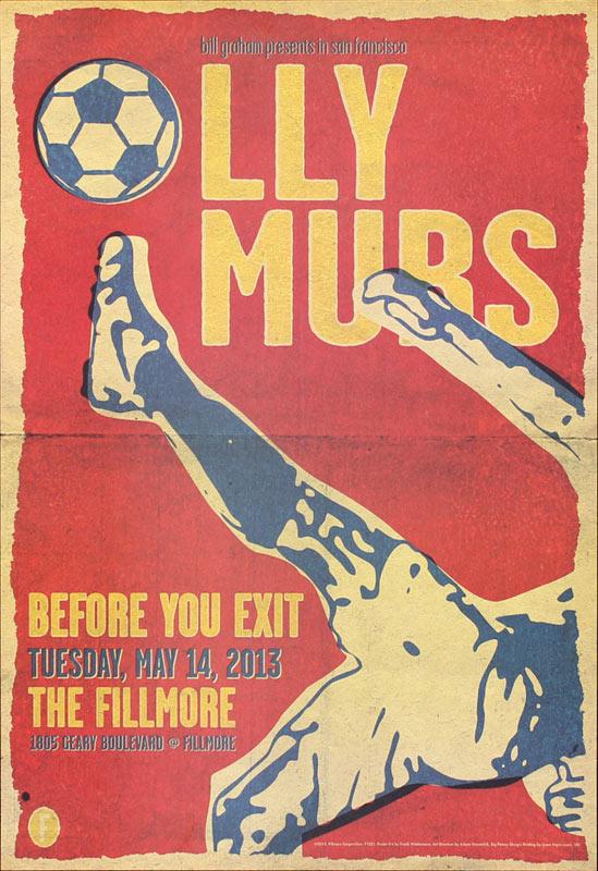 Olly Murs 2013 Fillmore F1221 Poster