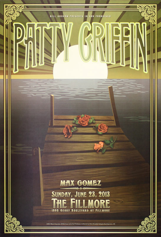 Patty Griffin 2013 Fillmore F1223 Poster