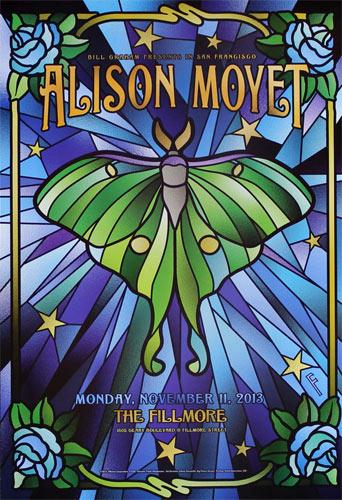 Alison Moyet 2013 Fillmore F1234 Poster