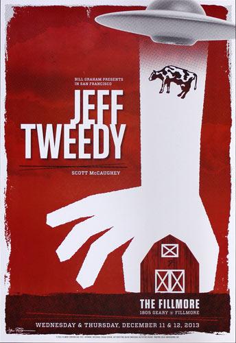 Jeff Tweedy 2013 Fillmore F1237 Poster