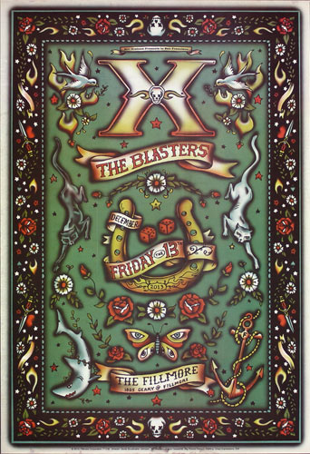 X New Fillmore Poster F1238
