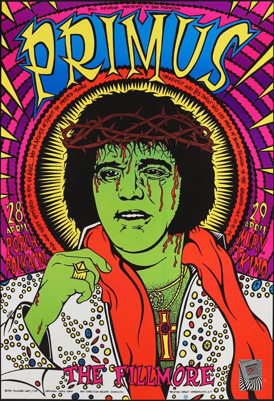 Primus New Fillmore Poster F124