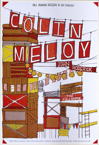 Colin Meloy 2014 Fillmore F1244 Posters